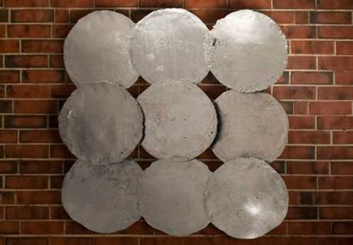 Galvanized Circle Wall D