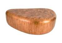 Wedge Coffee Table, Von Braun Finish - Coffee Tables - Tables
