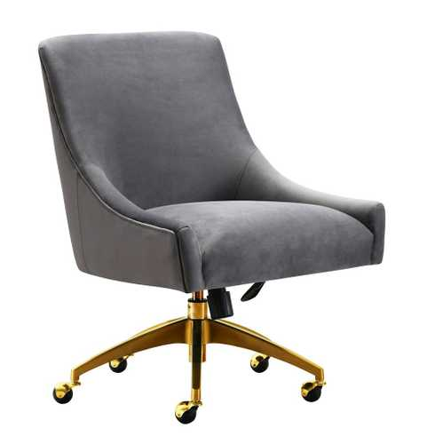 durable office chairs patio lounge target marlowe grey swivel chair