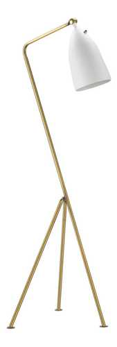 Magnus Floor Lamp - White / Brass