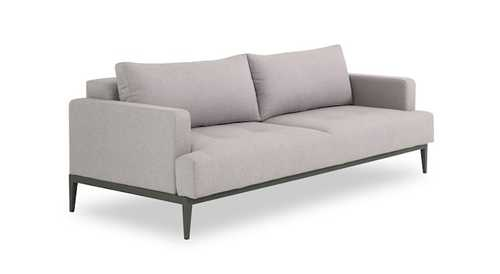 clubber sofa bed the sleeper light grey sleepers sofas