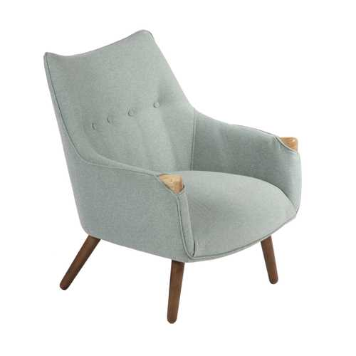 grey lounge chair green high nelson