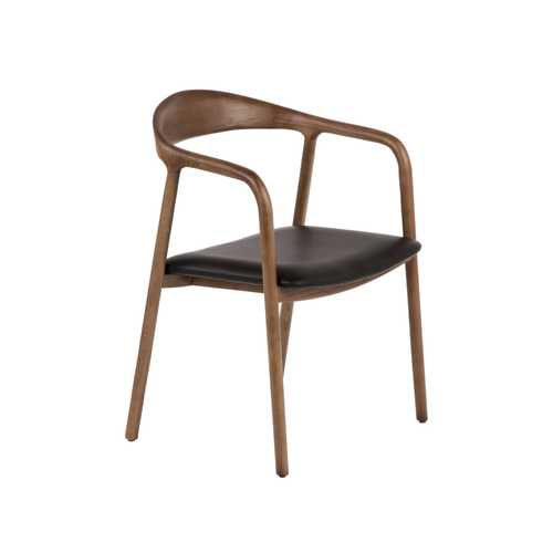Toril Arm Chair  WoodBlack
