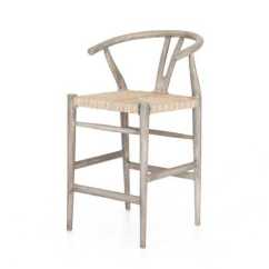 Bar Stool Chair Grey Mobile Chairs For The Elderly Counter Stools Muestra Weathered
