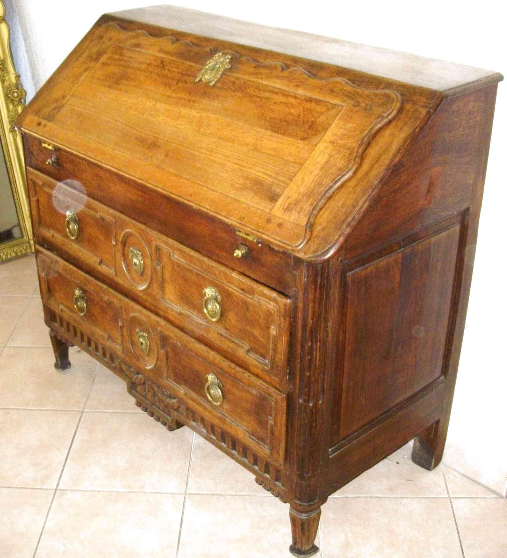 meuble secretaire ancien
