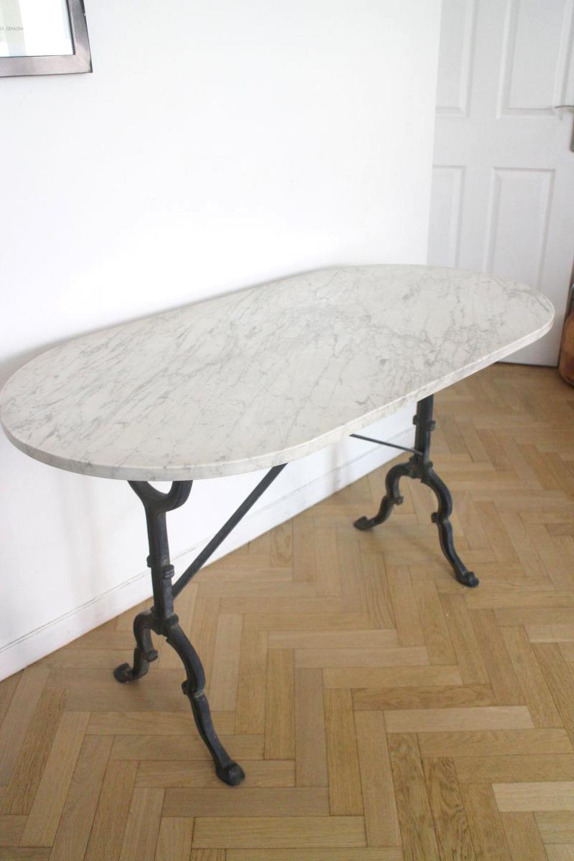 table bistrot pieds relooker une