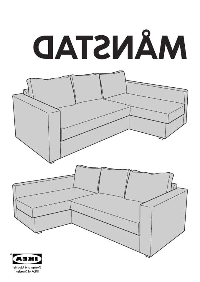 Canape Angle Ikea Manstad