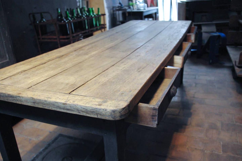table ferme ancienne rustique bois