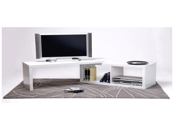 meuble tv angle blanc d occasion