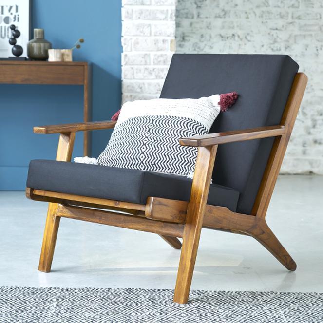 fauteuil teck scandinave d occasion