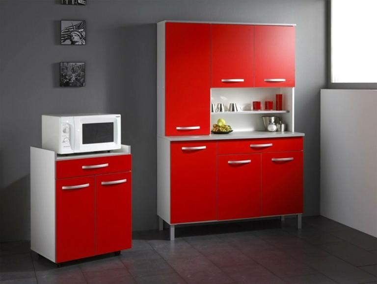 meuble cuisine rouge ikea d occasion
