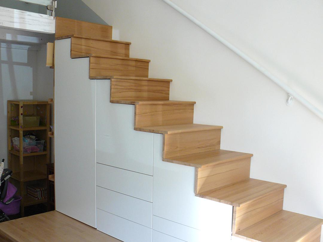 escalier rangement d occasion