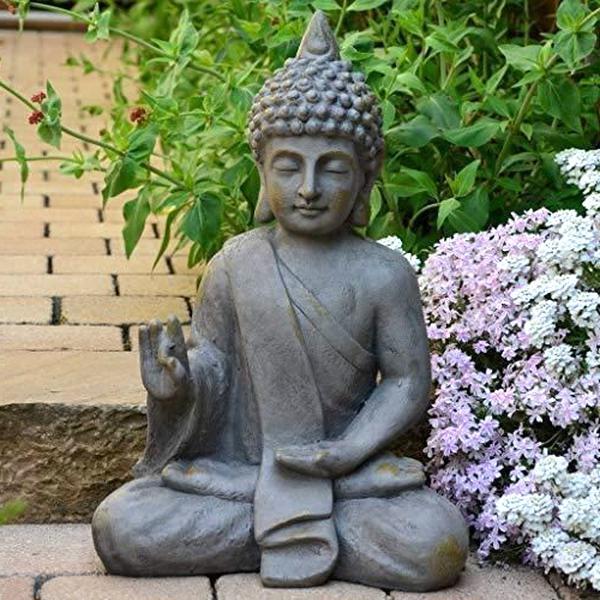 deperir injustice image statue deco jardin exterieur amazon