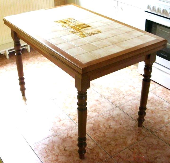 table cuisine carrelee cuisine carrelee