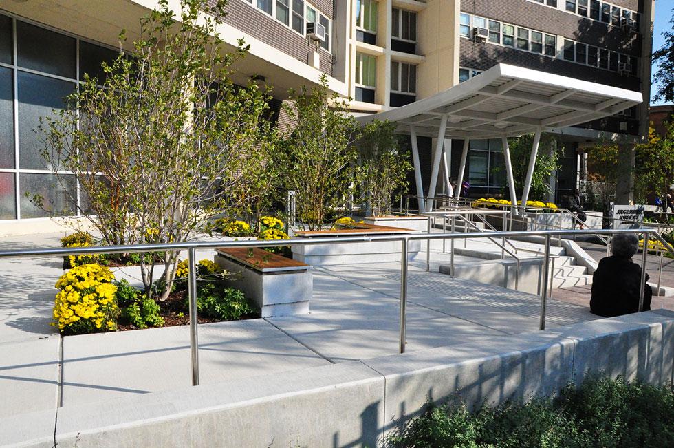 Judge Fisher Senior Apartments  Chicago Landscape Design