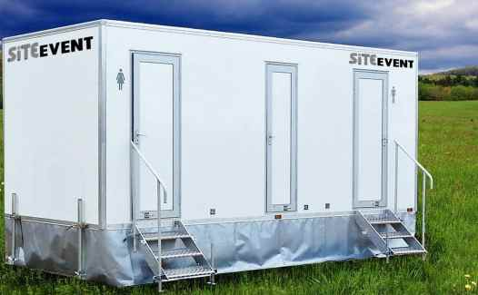 8 bay toilet trailer