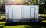 Luxury Toilet Trailer Hire 3+1