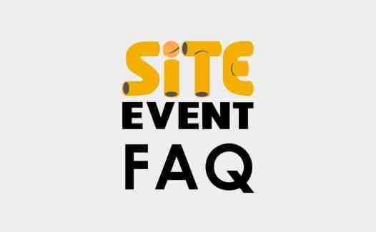 site event faq