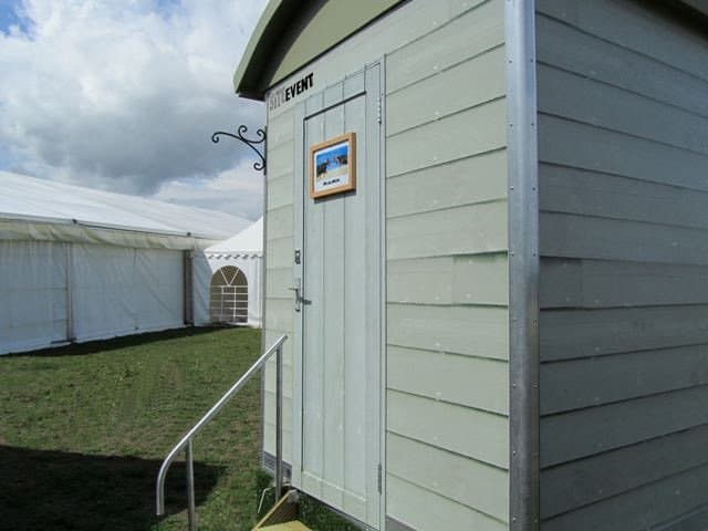 Themed Shepherds Hut Loo
