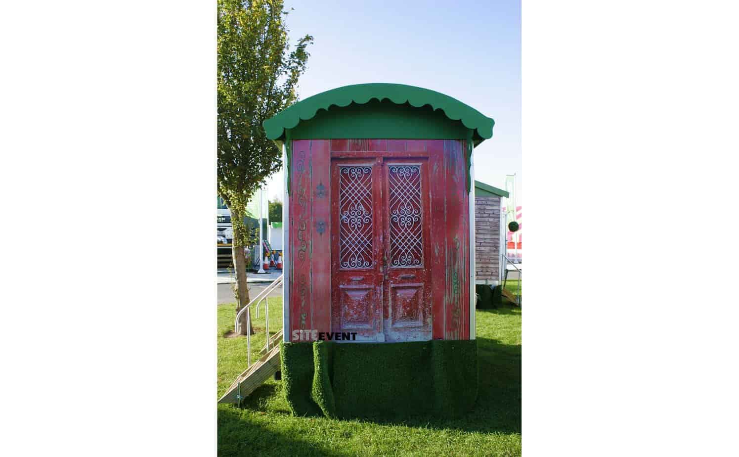 gypsy caravan toilet trailer