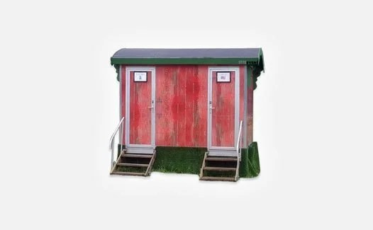 Themed toilet trailers for event hire