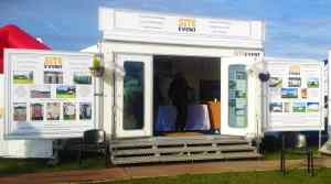 exhibition unit hire