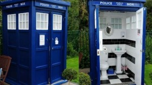 Tardis toilet hire