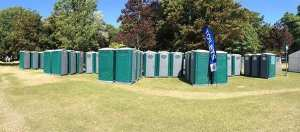 Large event toilet hire