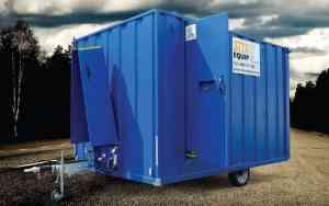 second hand welfare unit for sale