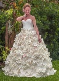 Charmin' Toilet Paper Wedding Dresses!