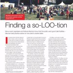 Finding A So-LOO-tion – Stand Out Magazine – September 2014