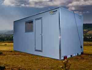 site accommodation towable mobile drying rooms