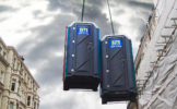 Lifting Frame Hire for Portable Toilets
