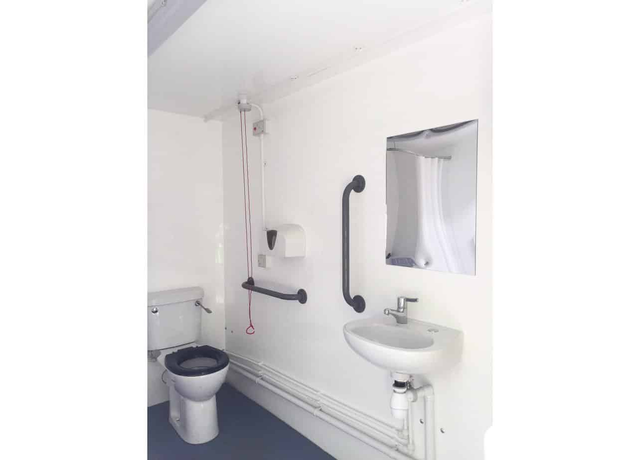 luxury disabled wet room
