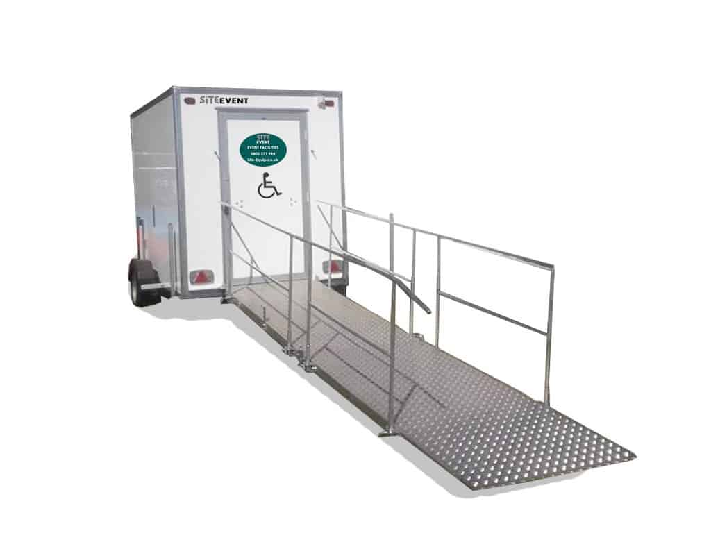 disabled shower trailer