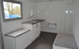 16ft wheeled cabins interior