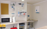 Site Station Hire Kitchen Inside