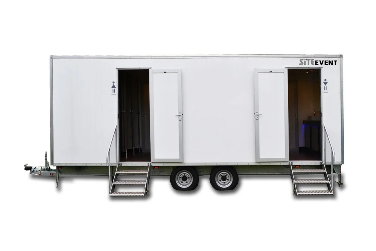 high quality toilet trailer