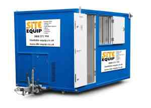 Site Equip Have The Newest HSE Approved Site Welfare Solutions