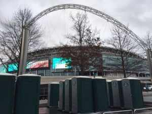 portable toilet hire for football tournaments