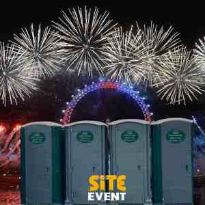 Site Event Toilets for Fireworks Night