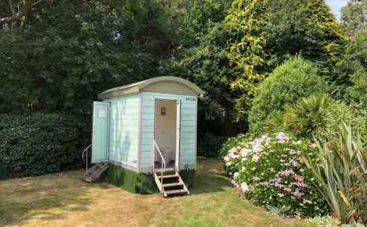 Shepherd's Hut Luxury Toilet Trailer For Sale