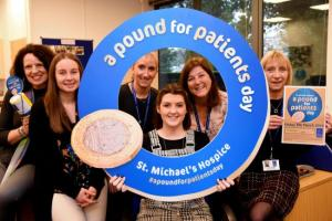 pound for patients day st michaels hospice