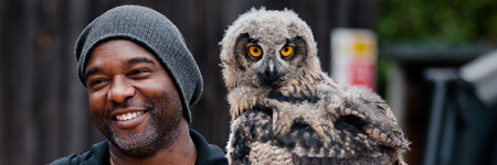 with owl
