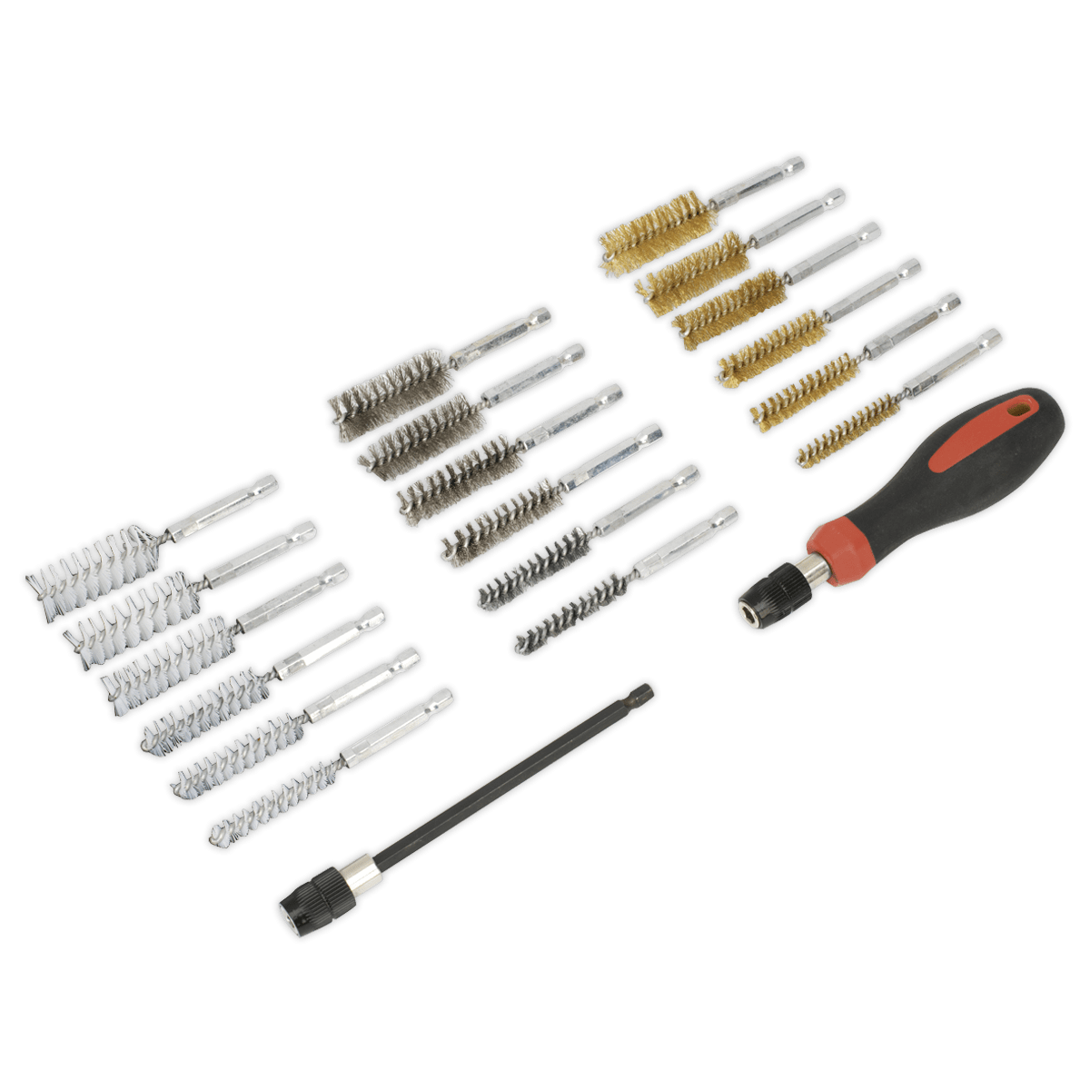 Sealey Vs Cleaning Amp Decarbonising Brush Set 20pc