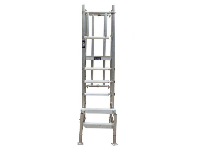 Lewis Trade Heavy Duty Aluminium Podium Steps 1.75 Metre