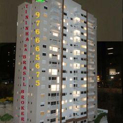 Varandas Santo André Aptos 2 e 3 Dorms 68m² e 90m² Lançamento Diálogo Maquete