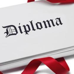 vendo diploma