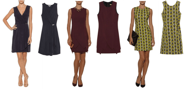 Modelos de vestidos tubinhos