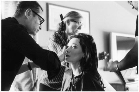 maquiagem de de Carla Bruni